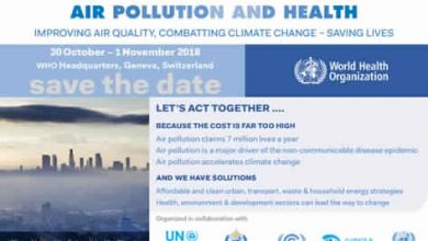 Photo of The World Health Organization (WHO) is organizing the first global conference to address the phenomenon of air pollution