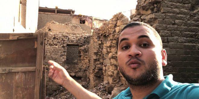 الباحث يوسف أسامة بإحدى حلقات مبادرته – مواقع التواصل