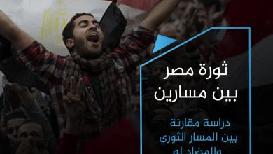 """Photo of (العربية) """"ثورة مصر بين مسارين"""".. دراسة مقارنة بين المسار الثوري والمضاد له"""