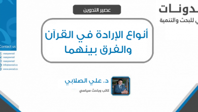 Photo of (العربية) أنواع الإرادة في القرآن الكريم والفرق بينهما